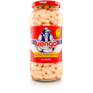 Cooked Low-Salt White Beans - 570g
