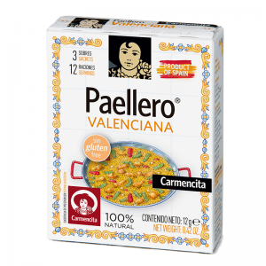 Paellero Valenciana Pack of 3 x 12g sachets