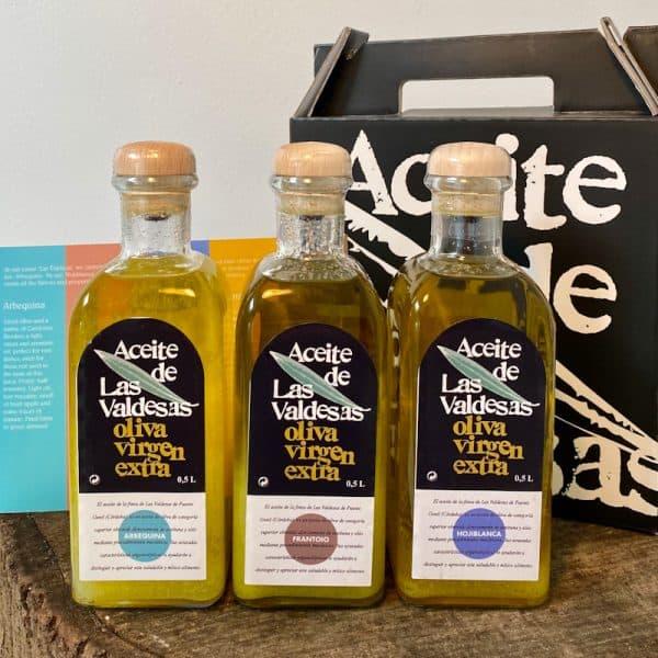 Box Set with 3 bottles x 0.5 L - Extra Virgin Olive Oils