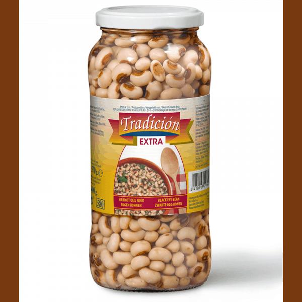 Tradicion - Cooked Black-Eye Beans - 570g