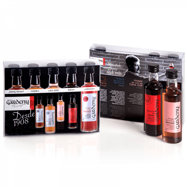 Gourmet Selection of 5 40ml Minis of Red Vinegars