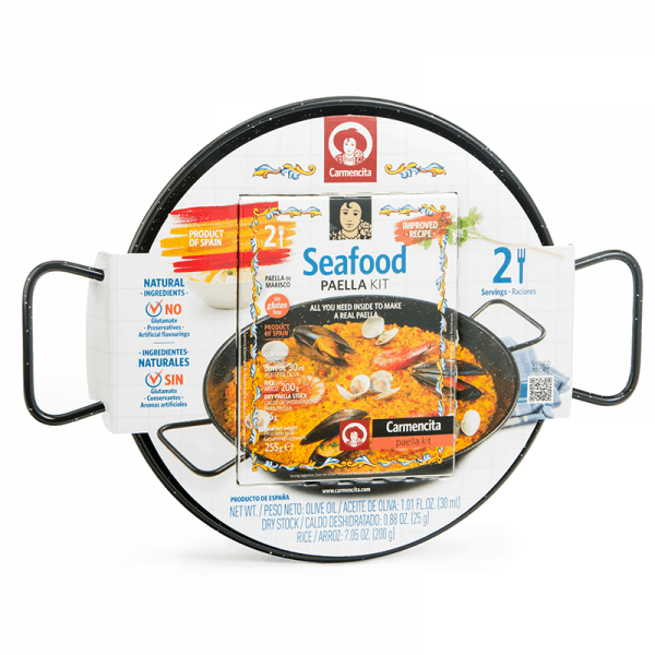 """""""MARISCO"""" Paella Kit for Two"""