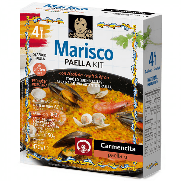 """""""MARISCO"""" Paella Kit for Four"""