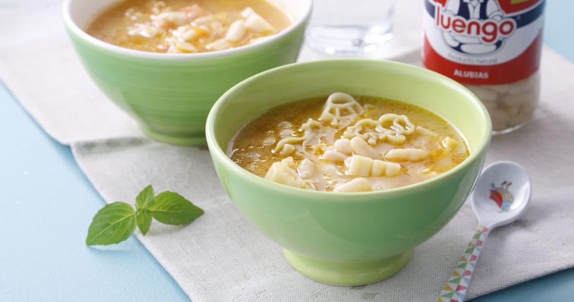 Children's bean soup