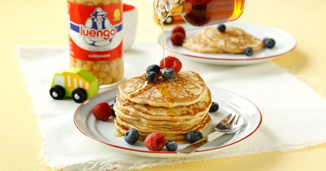 Chickpea pancakes
