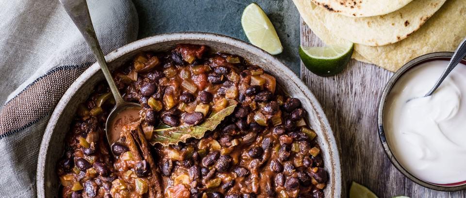 Slow Cooker Black Bean Chilli