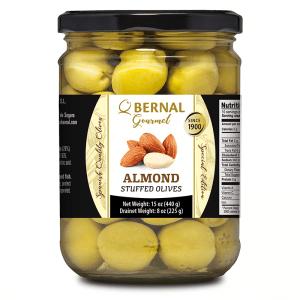 Manzanilla Olives stuffed with Almonds 440g J