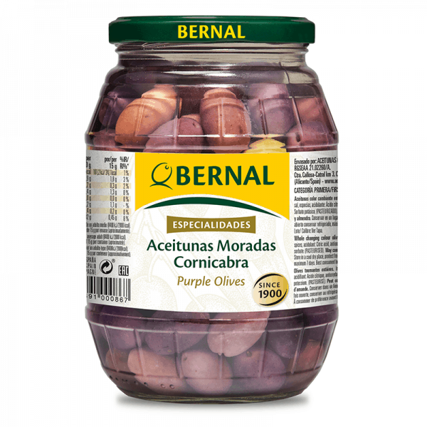 Cornicabra Purple Olives 300g