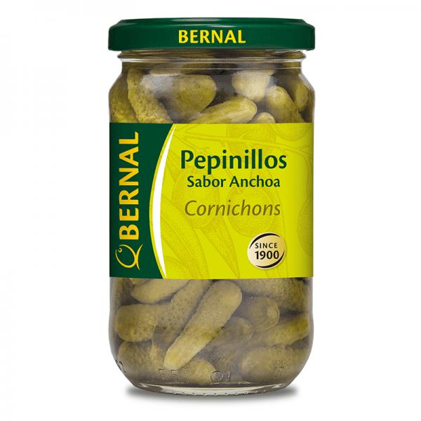 Cornichon Gherkins Anchovy Flavour 310g