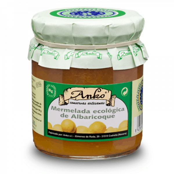 Organic Apricot Jam extra 270g
