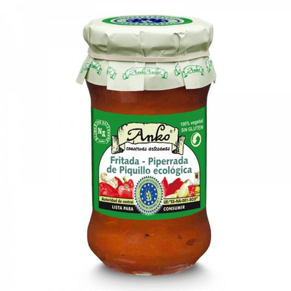 Organic Fritada-piperade Salsa 300g