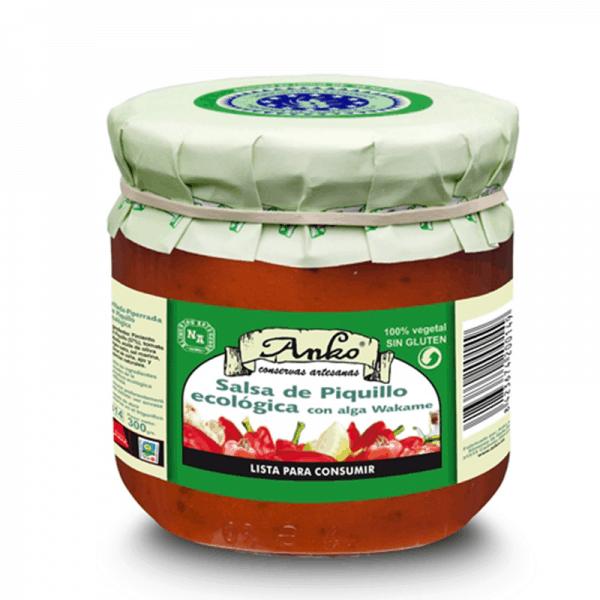 Pimiento del piquillo Pepper Salsa Organic 235g